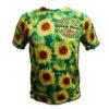 camiseta tecnica dibujo de girasoles