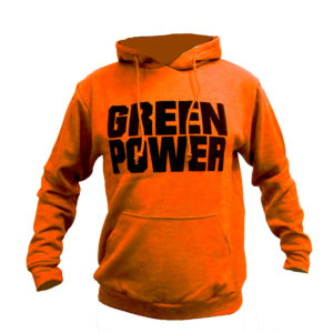 Sudadera naranja Green Power