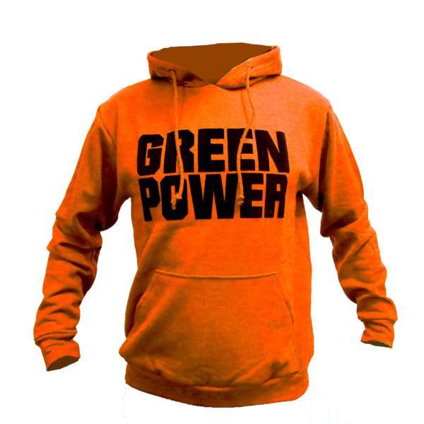 Sudadera naranja Green Power