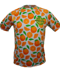 camiseta naranjas green power