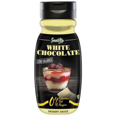 sirope de chocolate blanco zero calorias
